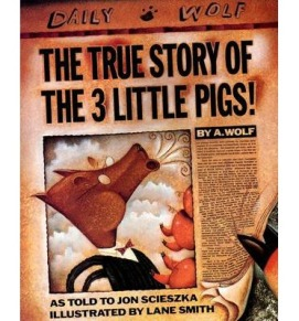 True story of the three little pigs