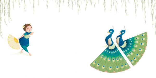Flora and the Peacocks illustration.jpg