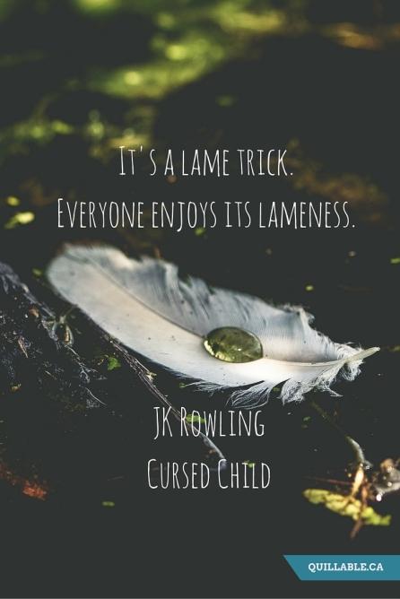 Cursed Child Quote