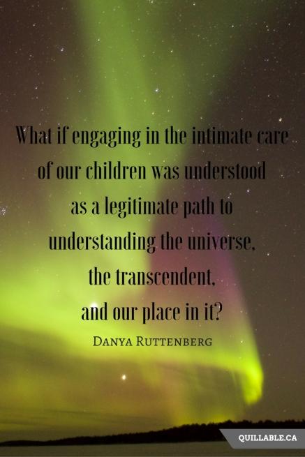 Nurture the Wow Danya Ruttenberg Quote