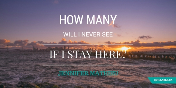 Devoted Jennifer Mathieu quote