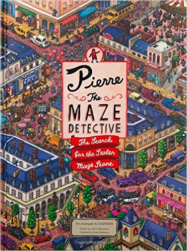 Pierre the Maze Detective search and find book
