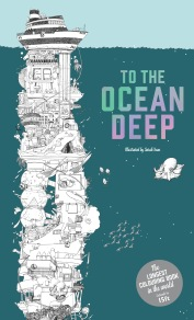 To the Ocean Deep Adult Colouring Book