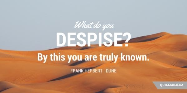 Frank Herbert Dune Quote