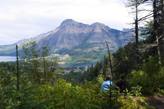 Alderson Carthew Hike Waterton Lakes Alberta