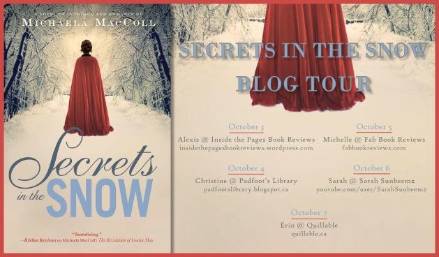 Secrets in the Snow Michaela MacColl Blog Tour