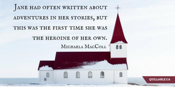 Secrets in the Snow Michaela MacColl quote Jane Austen