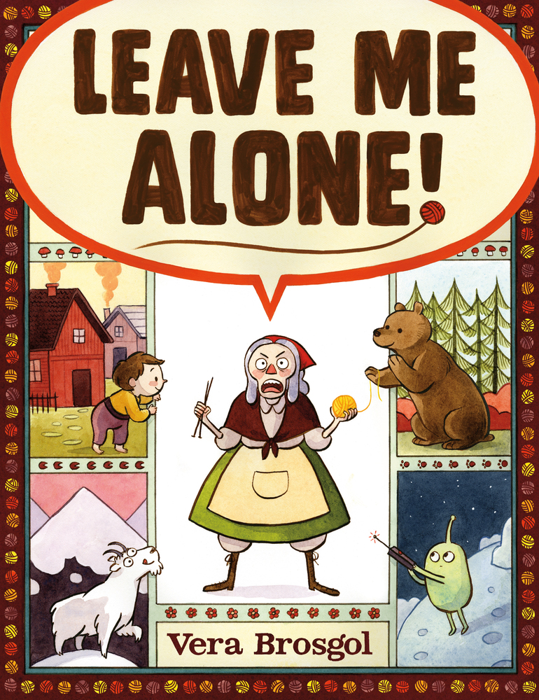 Picture Book Leave Me Alone Vera Brosgol Review by Erin @ Quillable.ca